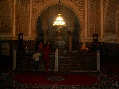 V mauzoleu Moulaye Ismaila (nahrál: Petr Kubík)