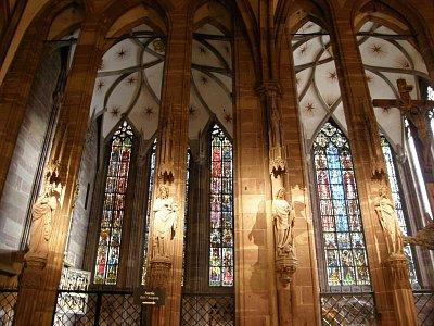Interiér katedrály (nahrál: Magdalena Hudranová)