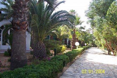 Hotel Marhaba - Zahrada u hotelu. (nahrál: kůzlenka)