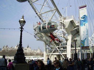 Londýnské oko zblízka (nahrál: Jechort)