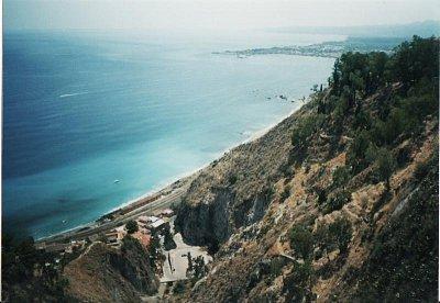 Pobřeží u Taorminy (nahrál: KačaDOD)