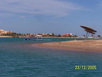 Výlet lodí z Hurghady do El Gouny - různé pohledy z lodi (nahrál: Kaki92)