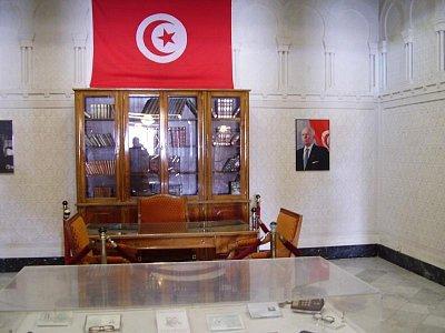 Pracovna prvého presidenta Habíba Bourghiby (nahrál: Jechort)
