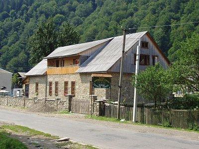 bývalá četnická stanice - dnes hospoda (nahrál: Kamil Hainc)