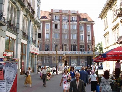 Ivano-Frankovsk - hotel Dnister (nahrál: Kamil Hainc)