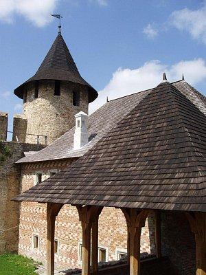 Chotyn - uvnitř hradu (nahrál: Kamil Hainc)