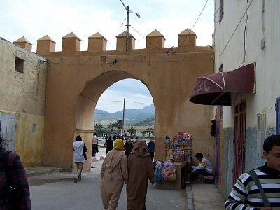 Taza - vstupní brána do medíny (nahrál: Jana Peksová)