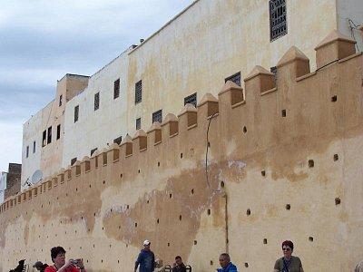 Taza - městské hradby (nahrál: Jana Peksová)