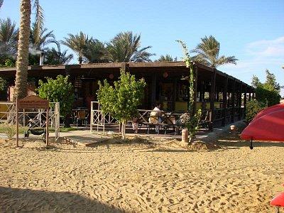 Ain Soukhna - bar a servis na pláži (nahrál: Oldrich Kvapil )