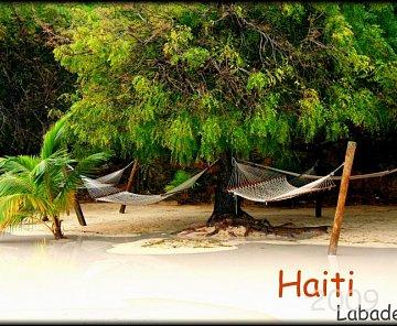 Déšť na Haiti