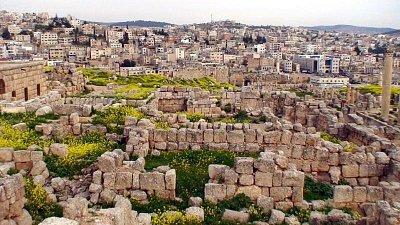 římské ruiny Jerash (nahrál: petras21)