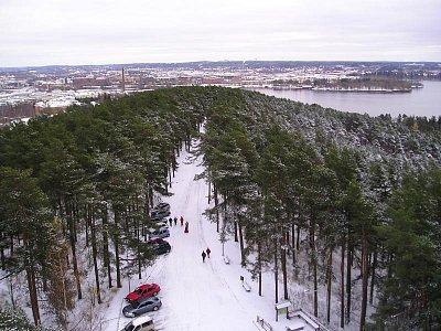 Tampere-pohled z rozhledny (nahrál: Jarmila  Macháčková)