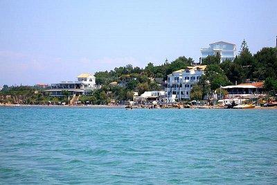 Alexandra Beach - pohled z moře (nahrál: Libor)