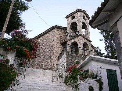 Vassiliki - kostel (nahrál: andreamor)