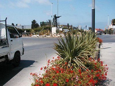 Ceuta - Kruhový objezd (nahrál: HelčaS)