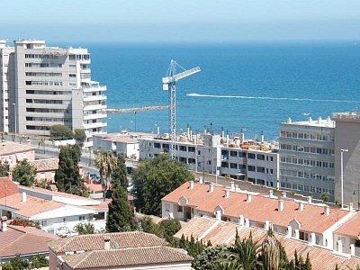 Fuengirola - Torreblanca, pohled z hotelu (nahrál: HelčaS)