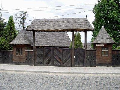 dřevěný kostel sv. Mikuláše e z r. 1607 (nahrál: Kamil Hainc)