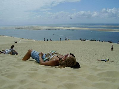 Pilátova Duna - Opalování na duně (nahrál: Trochy)