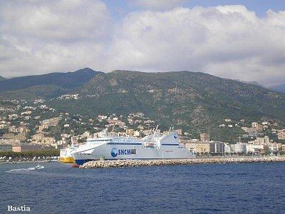 Bastia-připlováme do přístavu (nahrál: Vlaďka)