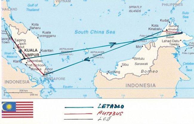 Malajsie 11-12/2009 - 1.část