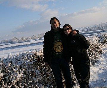 V Irsku taky sněží
