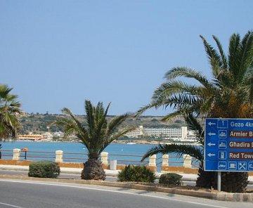 Pláže na Malte