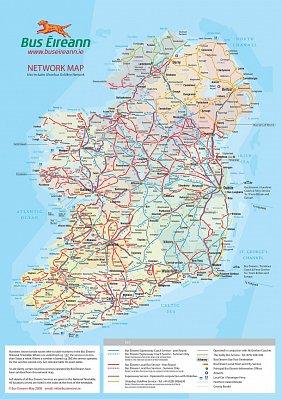 Bus Eireann - mapa dopravní infrastruktury v Irsku (nahrál: admin)