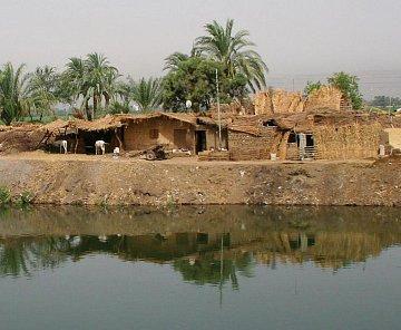 podél Nilu