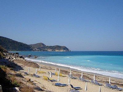 Pefkoulia beach (nahrál: Věrka)