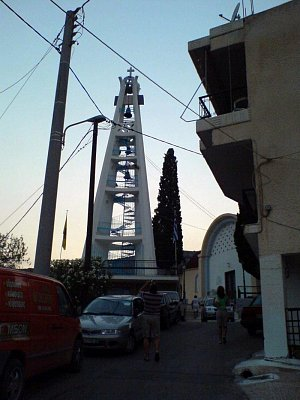 zvonice v Tolu (nahrál: akara1989)