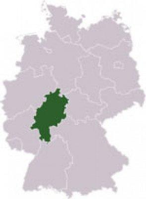 Hesensko - Hesensko. Zdroj: Wikipedia.org (nahrál: admin)