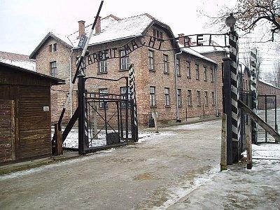 Koncentrační tábor Auschwitz. - Koncentrační tábor Auschwitz. Zdroj: Wikipedia.org (nahrál: admin)