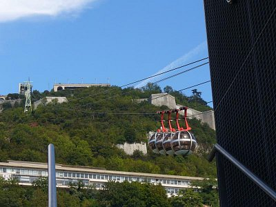 Lanovka Grenoble (nahrál: Holo)
