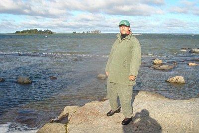 U jezera Vänern - Moje první dovolená ve Švédsku. (nahrál: Tomáš Kajtman)