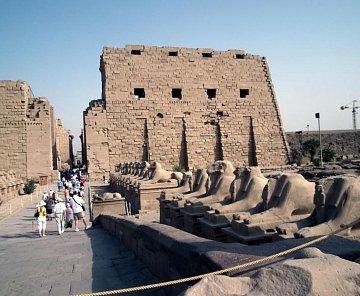Chrámový komplex v Karnaku 2010