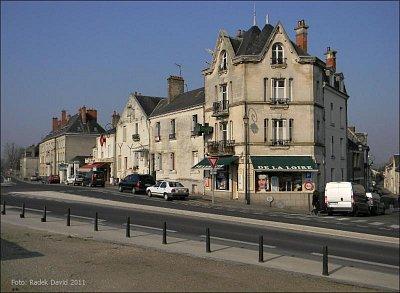 Amboise - Dům u silnice mezi Tours a Blois (nahrál: Radek David)