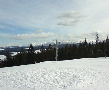 Na lyžích na Oravě
