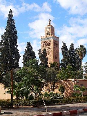 Maroko,Marakéš-Leden 2011