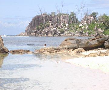 Pláže na Mahé