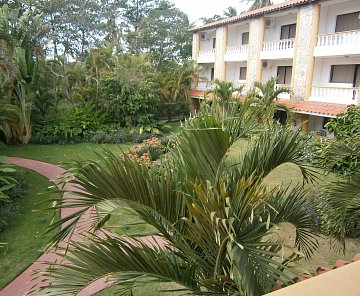 Dominikánská republika-Juan Dolio 2013 hotel Esmeralda beach