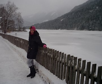 Rakousko únor  2013 - Dolní Rakousko - Lunz am see