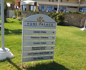 Vuni Palace, severný Cyprus