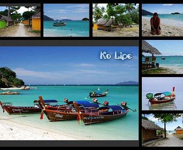 Ko Tarutao, Ko Lipe, Ko Adang, Khao Sok, Ko Tao, Bangkok