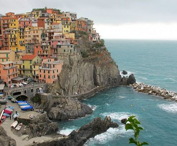 Itálie,Cinque Terre