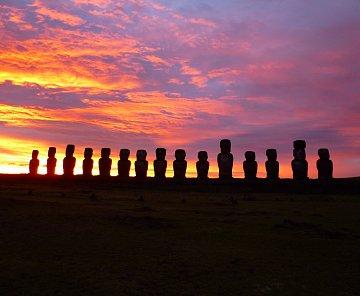 Velikonoční ostrov - Rapa Nui - Isla Pascua - Easter Island