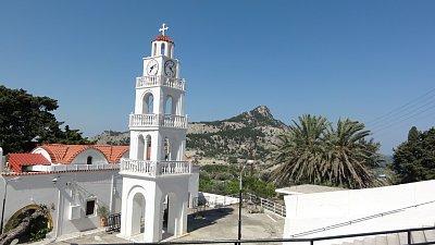 Tsampika - klášter a kaplička (nahrál: Yveta)
