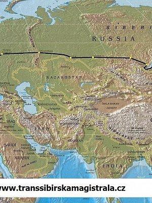 Transsibiřskou magistrálou přes Rusko, Mongolsko a Čínu