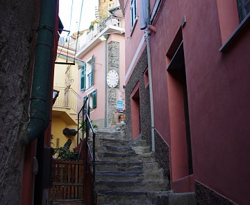 Itálie 2012 - 3.část: Cinque Terre