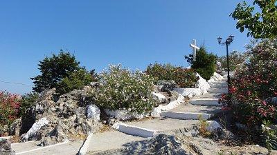 Tsampika - schody ke kapličce (nahrál: Yveta)
