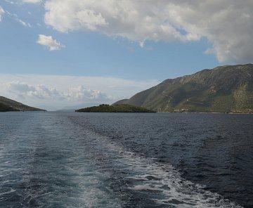 Řecko-Lefkáda-výlet lodí-září 2013